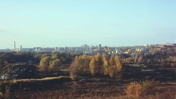 Вид на город Серпухов