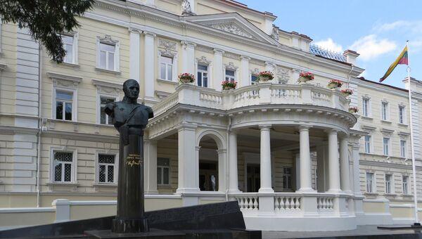 Здание Министерства обороны Литвы в Вильнюсе. Архивное фото