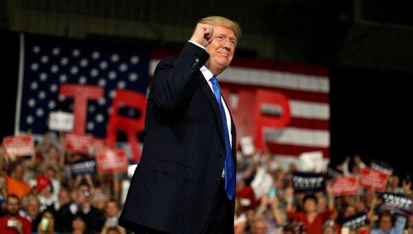 Кандидат в президенты США от Республиканской партии Дональд Трамп в Северной Каролине