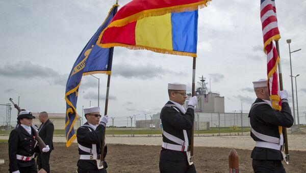 Церемония открытия базы ПРО США Девеселу в Румынии. Архивное фото