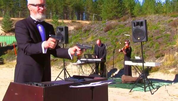 Бетховен на пистолетах