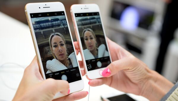 Новые смартфоны iPhone 7 и iPhone 7 Plus. Архивное фото