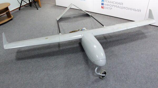 Беспилотный летательный аппарат ВСУ, перехваченный Народной милицией ЛНР