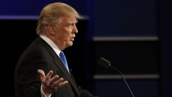Кандидат в президенты США республиканец Дональд Трамп. Архивное фото