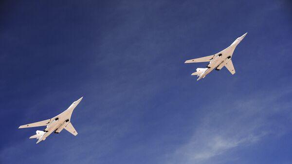 Cтратегические бомбардировщики-ракетоносцы Ту-160