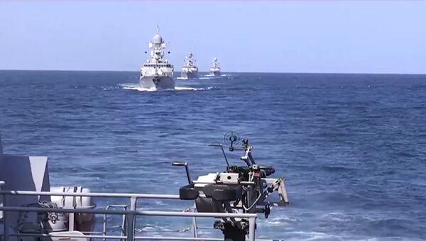 Корабли Каспийской флотилии, архивное фото