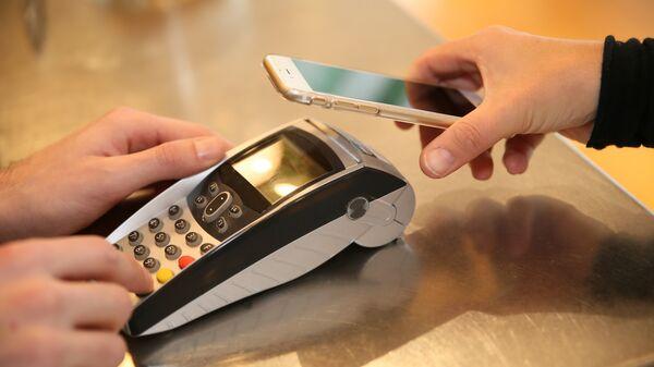Оплата с помощью смартфона