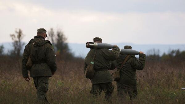 Военнослужащие мотострелкового соединения Южного военного округа