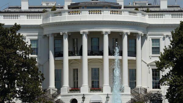 Официальная резиденция президента США - Белый дом. Архивное фото