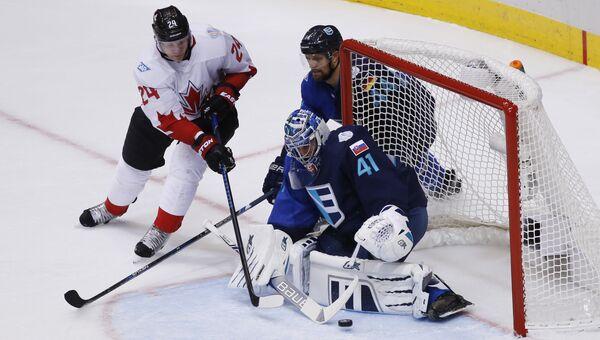 Сборная Канады по хоккею одержала победу над сборной Европы в финале Кубка мира