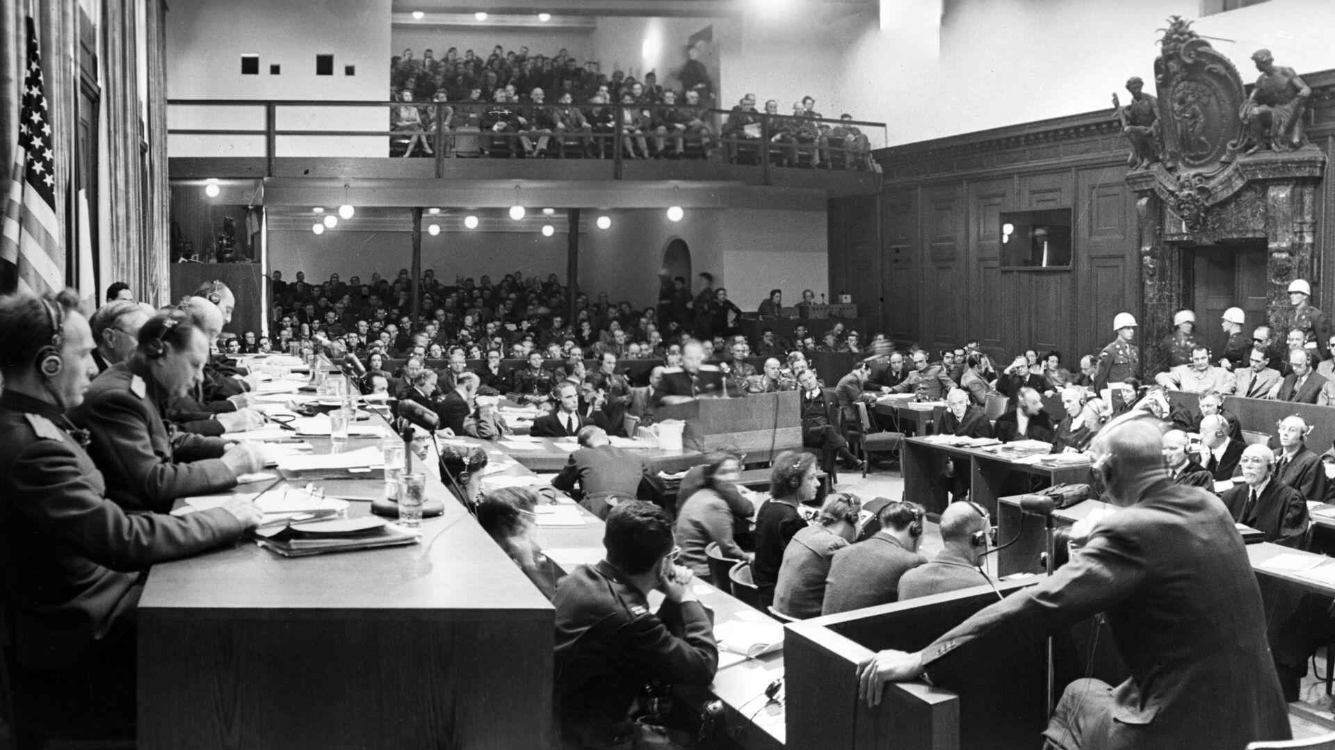 Одно из заседаний Международного военного трибунала - РИА Новости, 1920, 28.01.2021