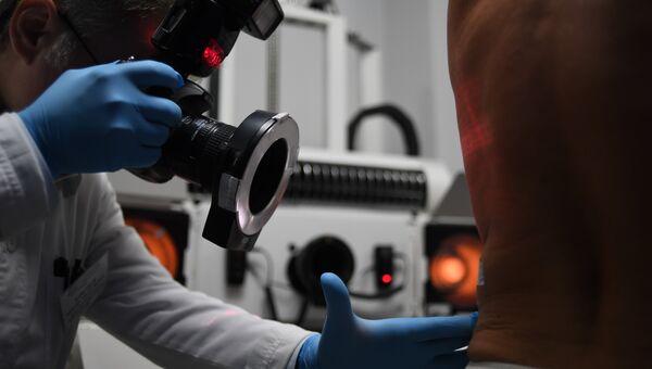 Программно-аппаратный комплекс для диагностики кожных заболеваний