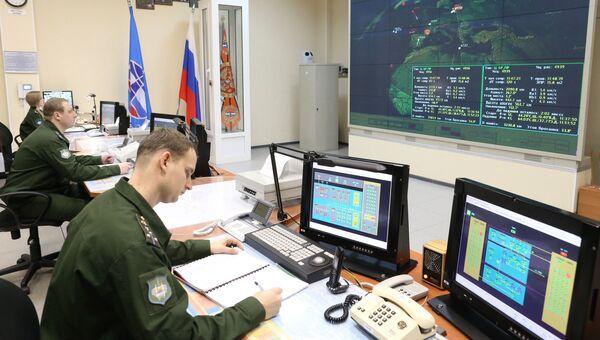 Командный пункт радиолокационной станции. Архивное фото