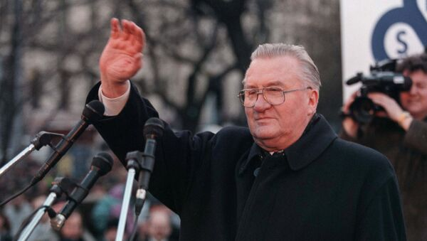 Словацкий государственный и политический деятель, первый президент независимой Словакии Михал Ковач
