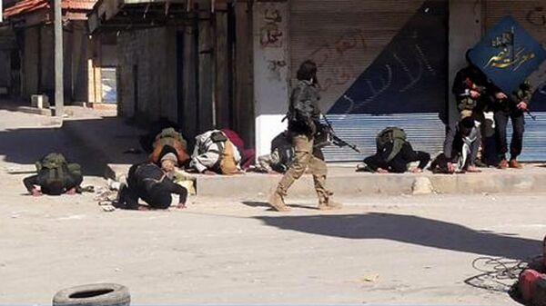 Боевики в сирийской провинции. Архивное фото