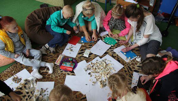Первый оздоровительный лагерь для детей-бабочек в Крыму