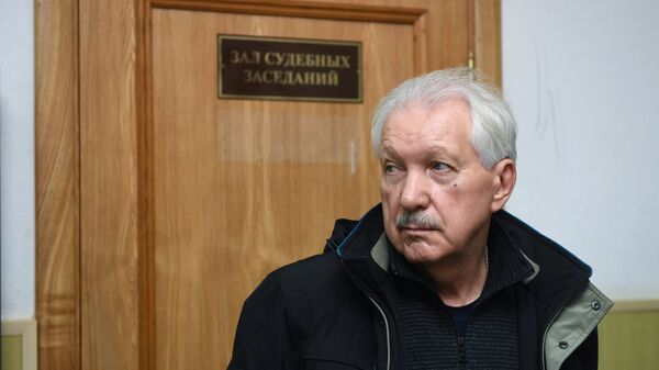 Бывший глава Коми Владимир Торлопов, обвиняемый в коррупции, в Басманном суде Москвы