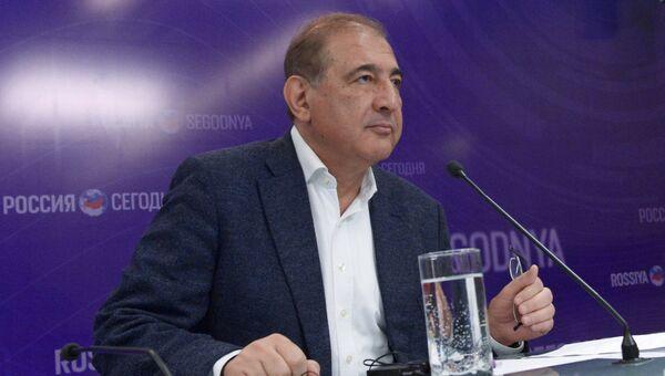 Представитель сирийской оппозиционной группы Москва – Каир Кадри Джамиль. Архивное фото