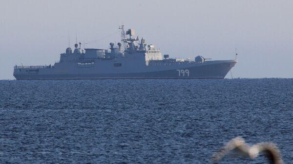 Сторожевой корабль ВМФ России Адмирал Макаров. Архивное фото