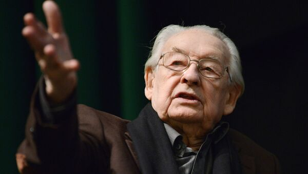 Польский режиссёр Анджей Вайда. Архивное фото