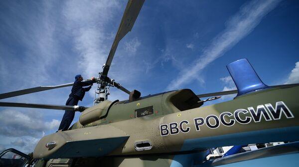 Легкий многоцелевой вертолет Ка-226Т. Архивное фото