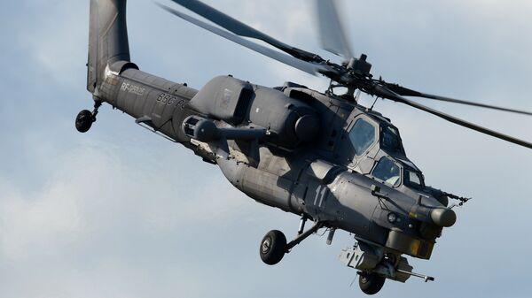 Ударный вертолёт Ми-28Н. Архивное фото