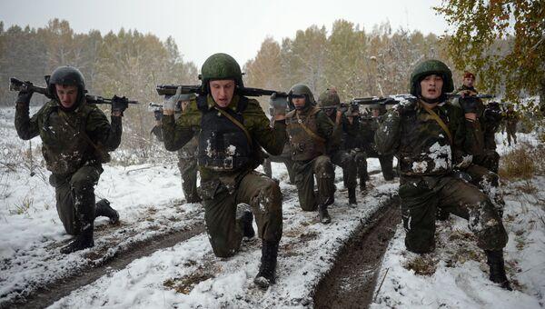 Военнослужащие Национальной гвардии РФ. Архивное фото
