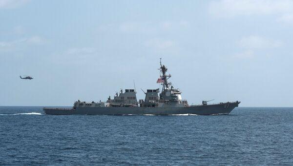 Американский эсминец Mason. Архивное фото