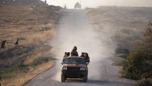Боевики на севере Сирии. Архивное фото