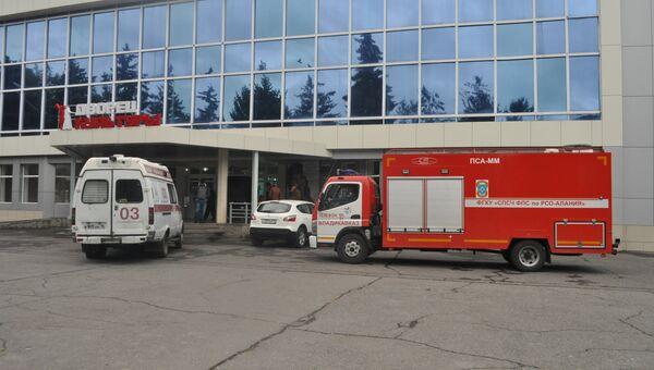 Машины скорой помощи в Северной Осетии