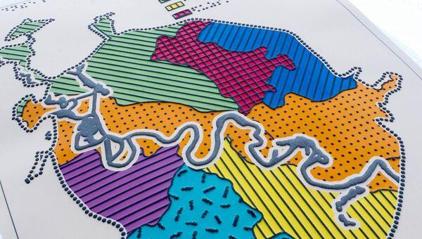 Карты для людей с нарушениями зрения представят на выставке в Институте географии РАН