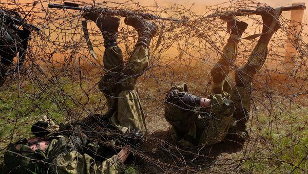 Военнослужащие подразделения специального назначения. Архивное фото