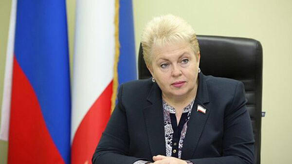 Вице-спикер парламента Крыма Наталья Маленко. Архивное фото