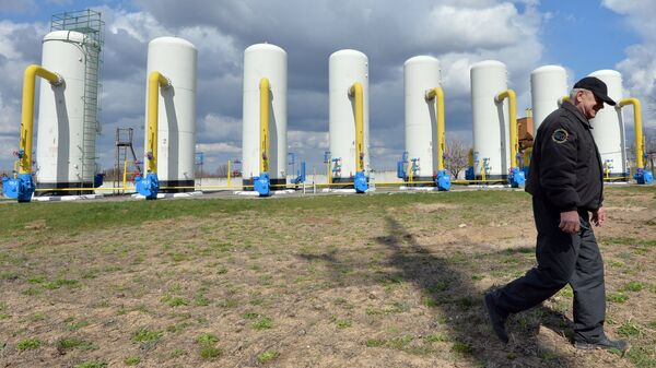 Газокомпрессорная станция в Боярке на Украине