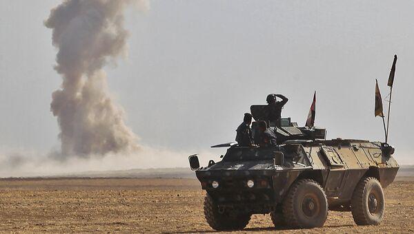 Наступление правительственных сил на Мосул в Ираке. 18 октября 2016