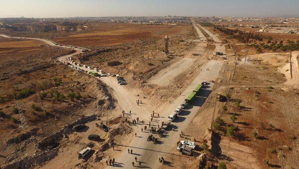 Гуманитарный коридор. Архивное фото