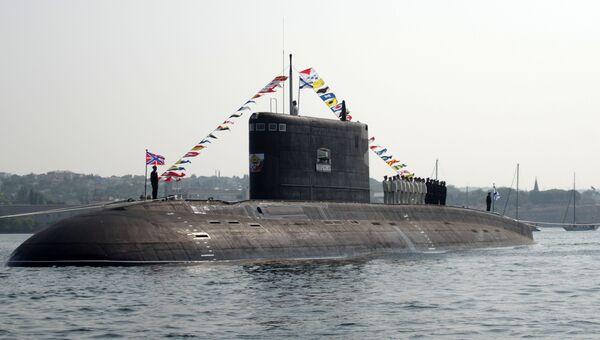 Подводная лодка Б-261 Новороссийск в Севастополе
