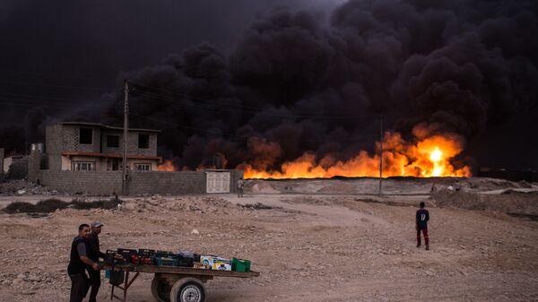 Ситуация в Мосуле. Архивное фото