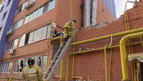 Взрыв газа в жилом доме в Рязани. Архивное фото
