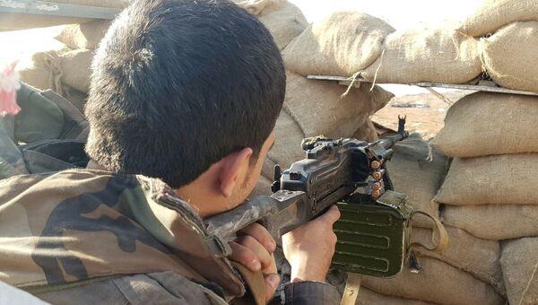 Боец сирийской армии. Архивное фото