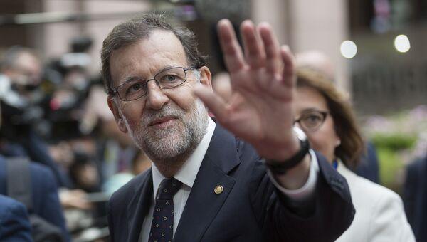 Председатель правительства Испании Мариано Рахой. Архивное фото