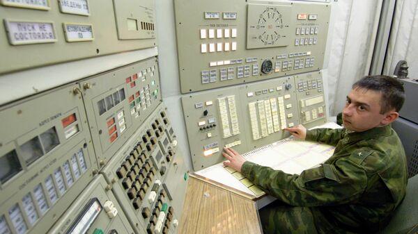 Дежурный расчет Ракетных войск стратегического назначения. Архивное фото