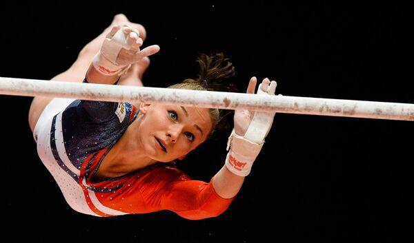 Гимнастка Мария Пасека