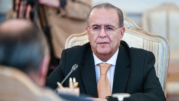 Министр иностранных дел Кипра Иоаннис Касулидис на встрече с министром иностранных дел Российской Федерации Сергеем Лавровым в Москве. 31 октября 2016