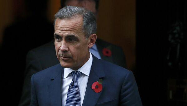 Глава Банка Англии Марк Карни у резиденции премьер-министра Великобритании на Даунинг-стрит в Лондоне. 31 октября 2016