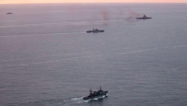 Корабли российского военного-морского флота. Архивное фото