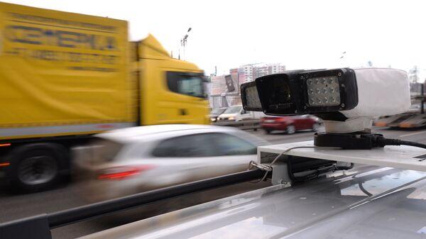 Устройство считывания данных с бортового транспондера, установленного на транспортных средствах, зарегистрированных в реестре государственной системы взимания платы Платон