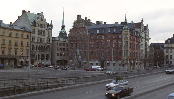 Город Стокгольм. Архивное фото