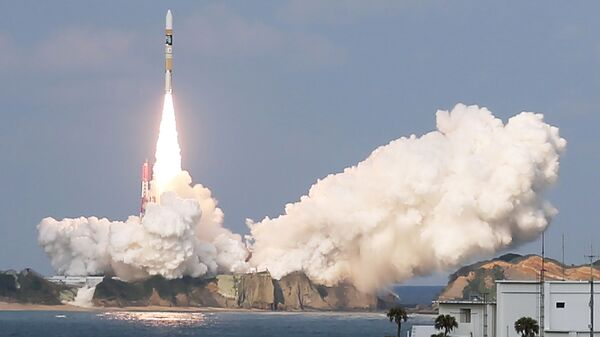 Запуск ракеты-носителя Н2А