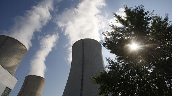 Атомная электростанция Дукованы в Чехии. Архивное фото